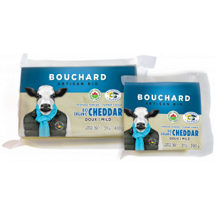 Fromage cheddar doux
